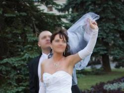 Przepiękna suknia ślubna MS MODA