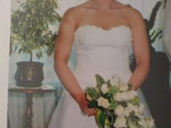 Przepiękna suknia ślubna - Podlasie Suwałki.