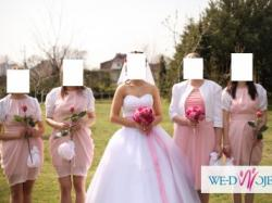 Przepiękna suknia ślubna - princessa