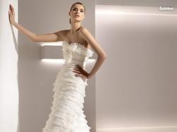 Przepiękna suknia ślubna Pronovias 2009 (salon Madonna), model Galatea