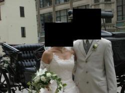Przepiękna suknia ślubna r.38-40