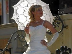 Przepiękna suknia ślubna rozmiar 36