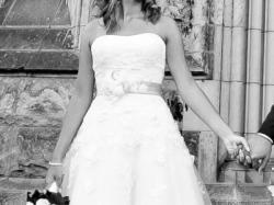 Przepiękna suknia ślubna rozmiar 38,Sincerity Bridal 3671,welon gratis