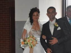 Przepiękna suknia ślubna Sincerity 3509 (rozm. 36/38) + dodatki