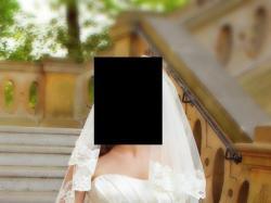 Przepiękna suknia ślubna Sincerity 3622 z etolą+hiszpański 2,5m welon