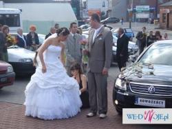 przepiekna suknia slubna Sundae uszyta w Anglii