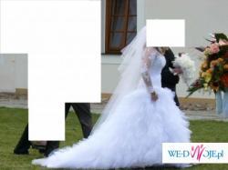Przepiękna suknia ślubna w stylu sukni Cichopek i Steczkowskiej.
