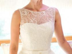Przepiękna suknia ślubna + welon