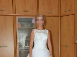Przepiękna suknia ślubna - własny projekt