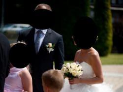 Przepiękna suknia ślubna z odpinanym trenem