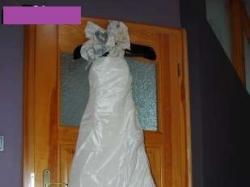 Przepiękna suknia ślubna z różami!