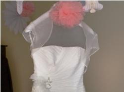 przepiękna suknia ślubna z salonu Agnes +gratisy