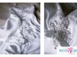 Przepiękna suknia ślubna z salonu David's Bridal
