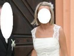 przepiękna suknia ślubna z salonu (rozm. 36)