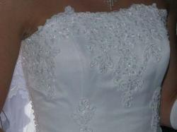 Przepiękna suknia szyta na wzór Demetrios 824