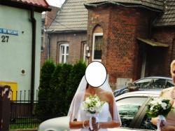 Przepiękna Suknia tiulowa z kamieniami gorset księżniczka 34/36