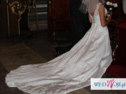 przepiękna suknia z salonu Lisa Ferrera, kolekcja Demetrios