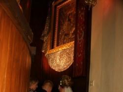Przępiękna suknie biało-złota roz.38