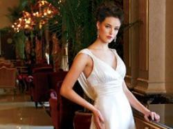 Przepiękna szyfonowa suknia - TANIO