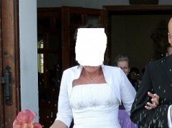 Przepiękną tiulowa suknia od Agnes