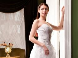 Przepiekna,zwiewna suknia slubna