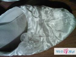 Przepiękne buty ślubne