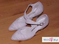 Przepiękne buty ślubne ręcznie wykonane