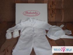 Przepiękne ubranko do chrztu firmy Abrakadabra!