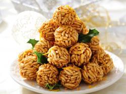 Przepis Ani Starmach: czekoladowe szyszki z ryżu