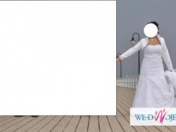 Prześliczna biała Suknia ślubna roz.38/40 + 4 gratisy!!! cena do negocjacji!!!!