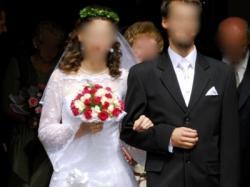Prześliczna koronkowa suknia ślubna rozmiar 36/38