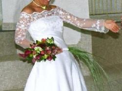 Prześliczna sukienka ślubna