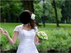 Prześliczna suknia Margoss- biała