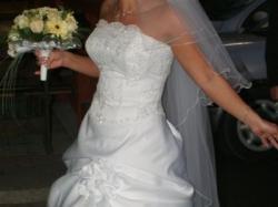 Prześliczna suknia ślubna!!!