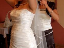 Prześliczna suknia ślubna DAMITA - kolekcja GALA