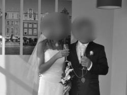 Prześliczna suknia ślubna ecru 36/38 po czyszczeniu !!!