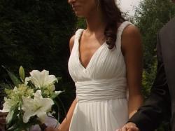 Prześliczna suknia ślubna firmy PRONOVIAS, model MALI