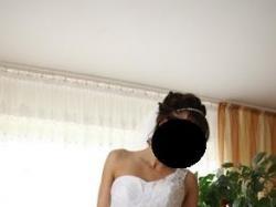 Prześliczna suknia ślubna firmy Sarah! Rozmiar 36/38