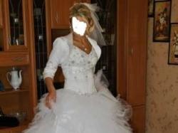Przesliczna suknia ślubna idalia plus buty bolerko welon!