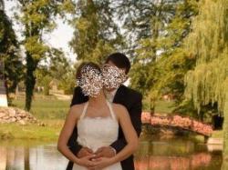 Prześliczna suknia ślubna - orginalna