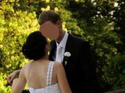 Prześliczna suknia ślubna sprowadzona z USA