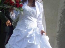 Prześliczna suknia ślubna stan idealny