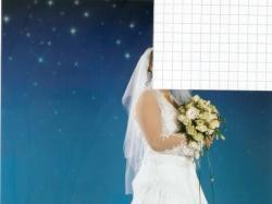 Prześliczna suknia ślubna z małym trenem