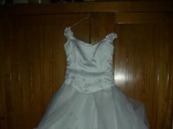Prześliczna suknia śubna Gracja