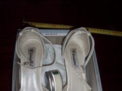 Prześliczne buty ślubne w kolorze ecru r.40 + gratisy!!!