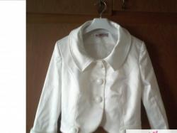 prześliczny i bardzo gustowny żakiet, bolerko do sukni ślubnej