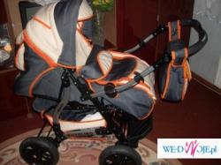 prześliczny wózek wielofunkcyjny... stan idealny...gwarancja!!!