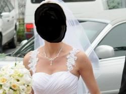Przynosząca szczęście suknia ślubna ;-)
