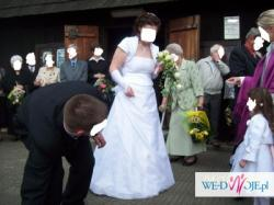 pzredam suknie ślubną