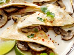 Quesadillas z pieczarkami